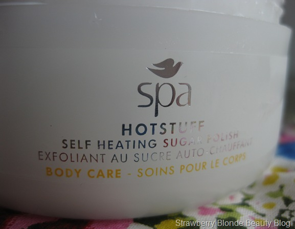 Dove Spa Hotstuff Body Sugar