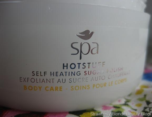 Dove Spa Hotstuff Body Sugar