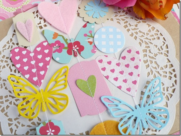 cafe creativo - Anna Drai - big shot sizzix - paper garland gift wrapping (5)