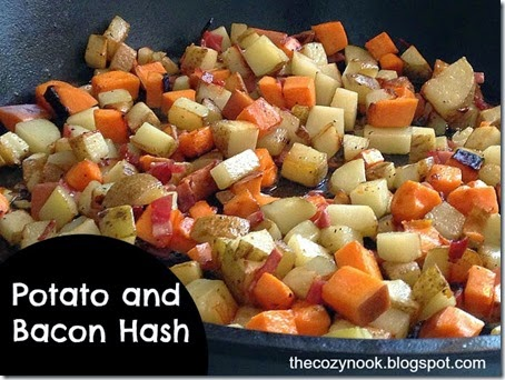 Potato and Bacon Hash - The Cozy Nook
