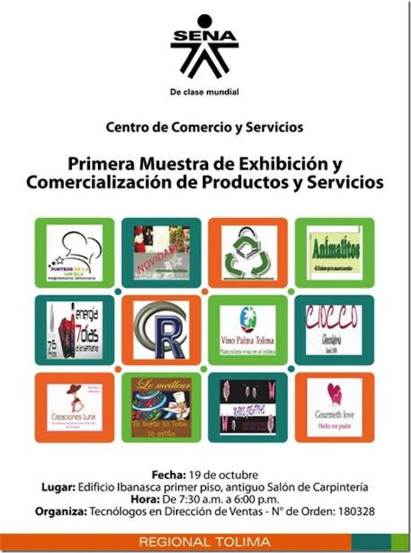 Muestra de Exhibiciòn y Comercialización de Productos y Servicios