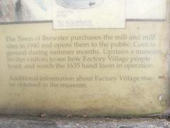 Cape Cod grist mill partial sign1
