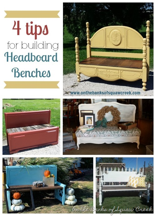 tips for headboard benches