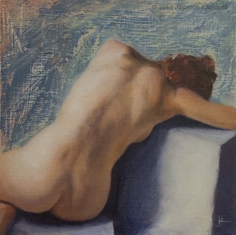 Kamante - Seated Nude I