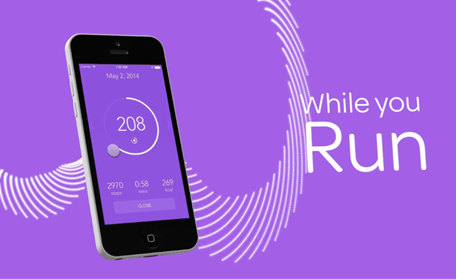 Free Fitness Tracker App for iPhone : Fjuul