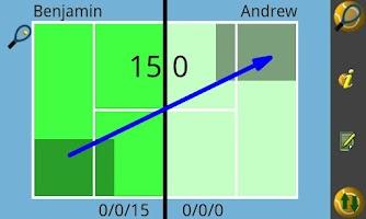 Screenshot of Stat My Tennis Lite
