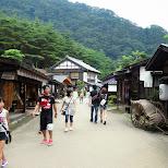 ancient village at Edo Wonderland in Nikko, Totigi (Tochigi) , Japan