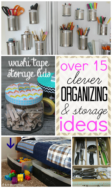 over 15 clever organizing & storage ideas #gingersnapcrafts #features _thumb[3]