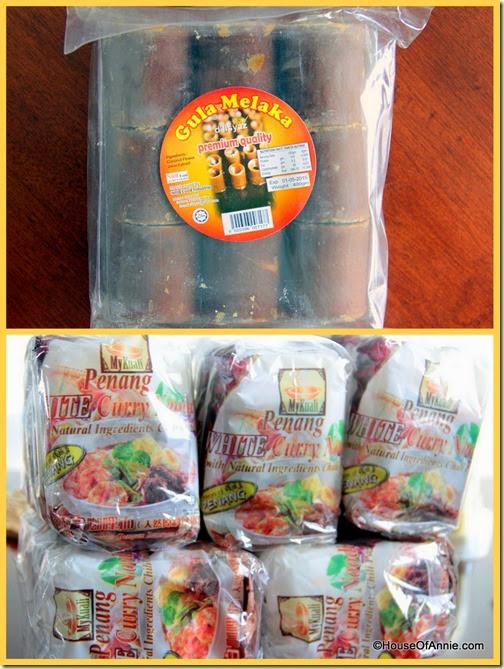 Gula Melaka Penang White Curry Mee