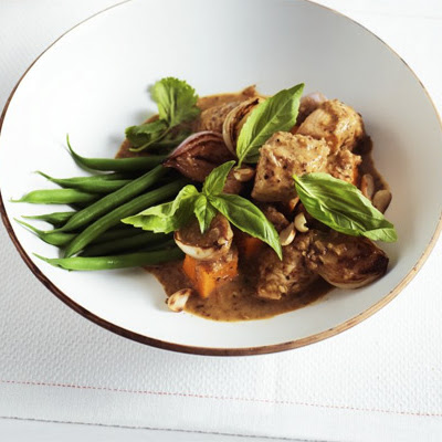 Lighter Massaman Chicken Curry
