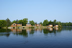 View of our Lakeside Cabins