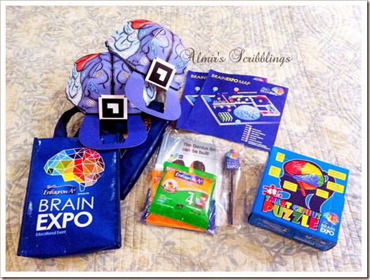 brain expo - goodies