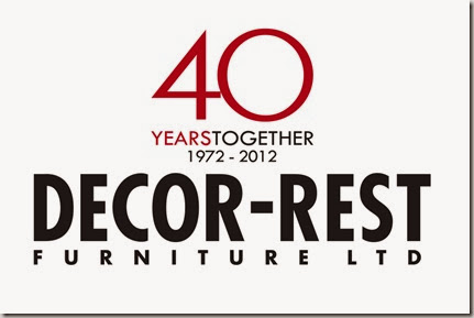 Decor-Rest logo - 40th