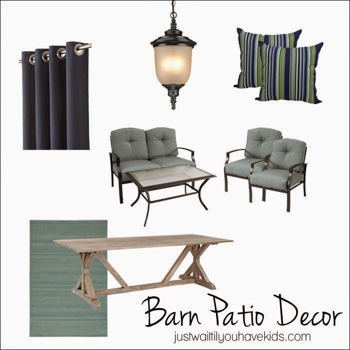 Barn Patio Design | Just Wait til You have Kids