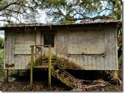 Abandonded cabin back