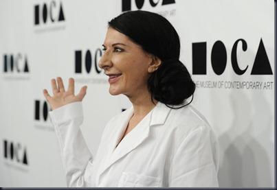 Marina Abramovic 2011 MOCA Gala Artist Life wlBmNJfPAnrl