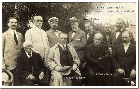 fONTILLES Fundadores 1914