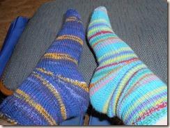 socks and baby treadmill 003