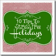 10 tips to stress free holidays