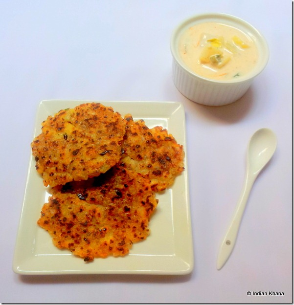 Sabudana Thalipeeth Sago Potato Pancake Potato Dip Aloo ka raita recipes