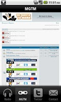 Screenshot of Panda FM