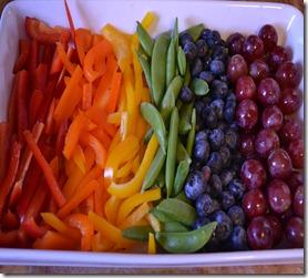 veggie rainbow