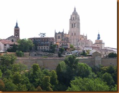 Segovia cityscape N