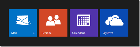 Outlook.com accedere a Mail, Persone, Calendario e SkyDrive