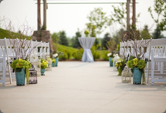 Electic Aisle Decor by Cori Cook