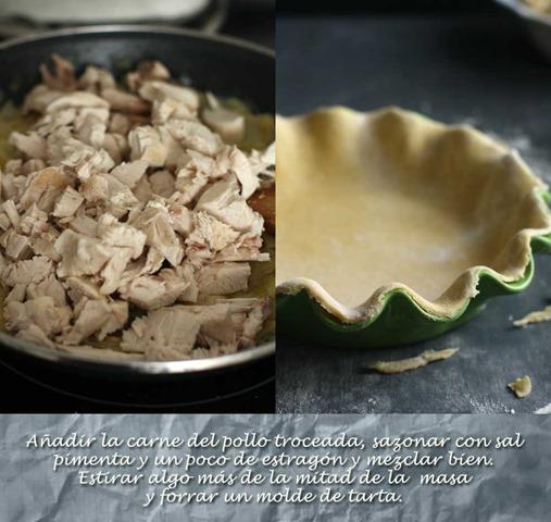 añadir-la-carne-de-pollo