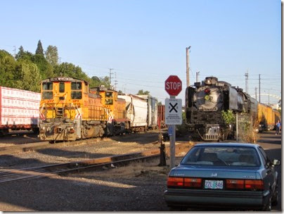 IMG_6476 Union Pacific #844 at Albina Yard in Portland on May 22, 2007
