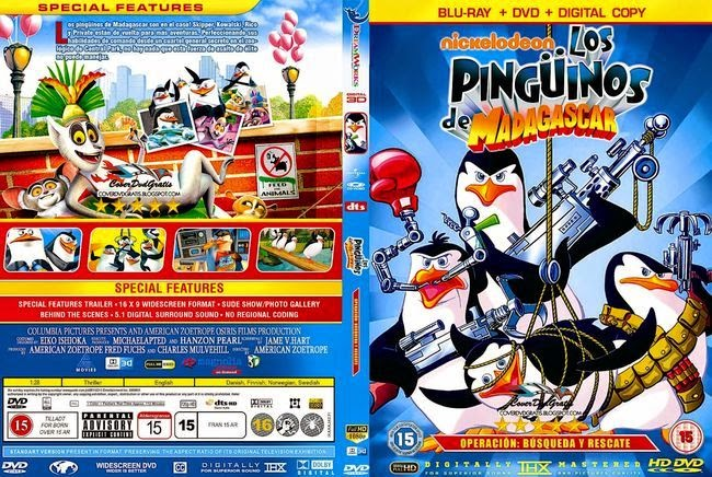 Penguins Of Madagascar: Operation Search and Rescue – Latino