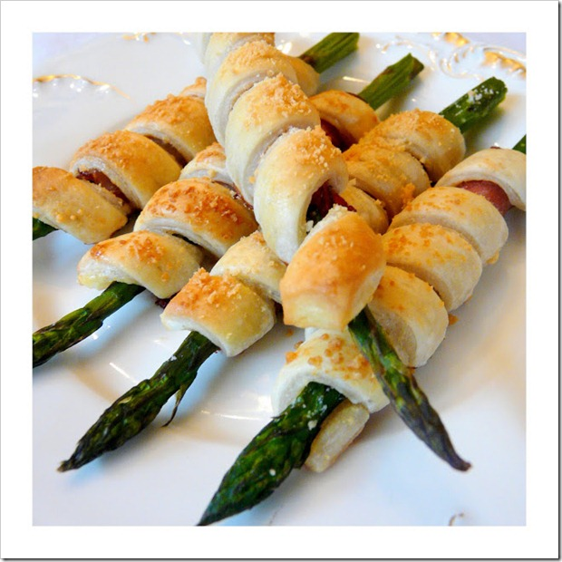 Prosciutto Asparagus Puff Pastry Hors d6