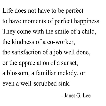 courage for the week -- janet lee