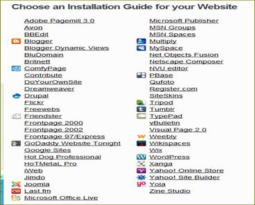 รูปแบบของเวบไซต์และเวบบล็อก