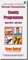 DH Events Programme Apr-Jul 14