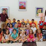 WBFJ Cici's Pizza Pledge - Frank Morgan Elementary - Ms. Hine's 1st Grade Class - 9-11-13