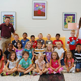 WBFJ Cici's Pizza Pledge - Frank Morgan Elementary - Ms. Hine's 1st Grade Class - 9-11-13