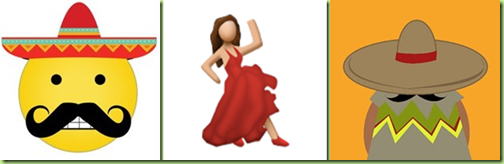 mexican emojiis