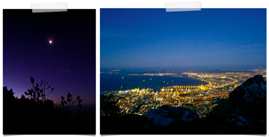 cape town twinkly lights one carry-on travel