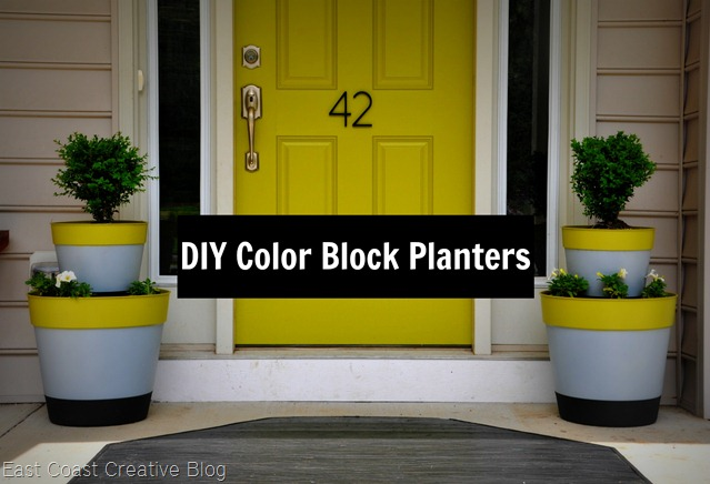 Color Block Planter