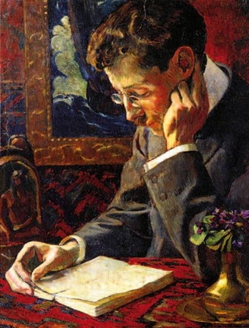 George-Daniel de Monfreid_Portrait de Victor Segalen_1909