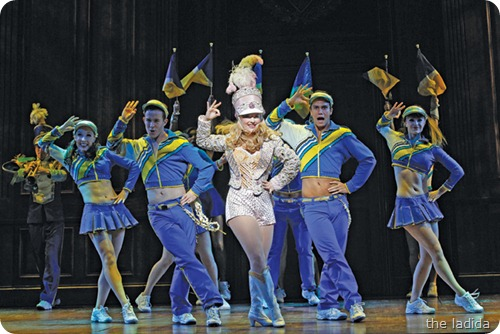 Lucy Durack as Elle in LEGALLY BLONDE (c) Jeff Busby