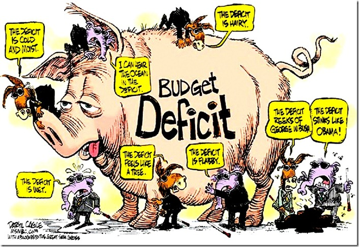 Dem-GOP Deficit Pig