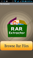 Screenshot of RAR Extractor Pro