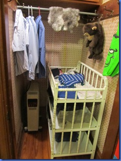 changing table boy clothes storage