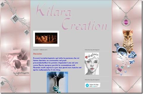 Kilara creation