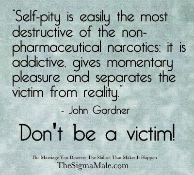 Self pity