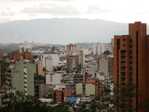 The city of Bucaramanga, Colombia