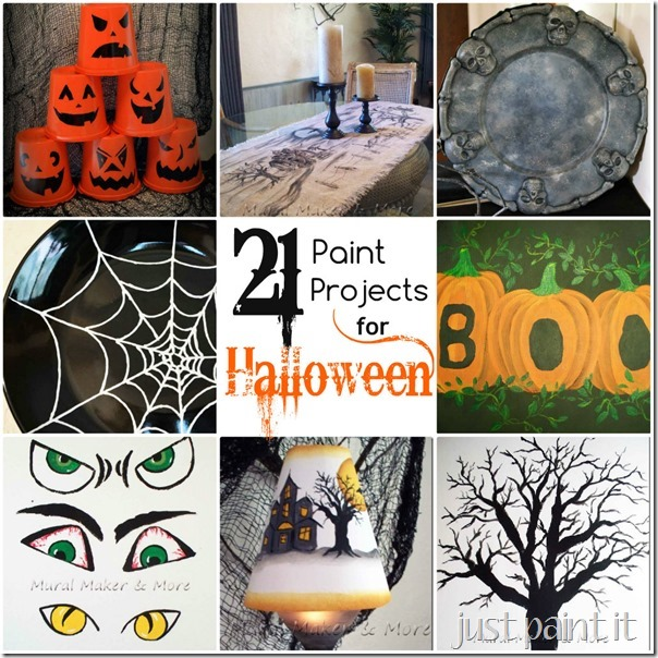 21 EASY Halloween Paint Projects